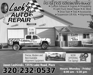 For All Your Automotive Needs