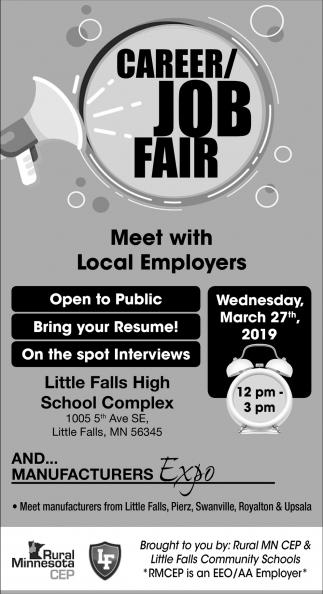 CAreer/ Job Fair, Rural Minnesota CEP, Detroit Lakes, MN