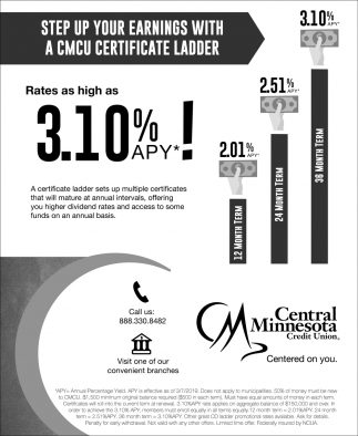 Step Up Your Earnings with A CMCU Certificate Ladder