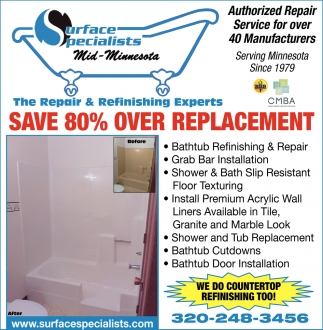 The Repair & Refinishing Experts