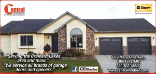Serving the Brianerd Lakes Area and More