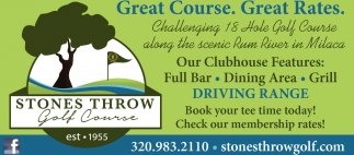 Great Course. Great Rates