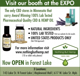 Visit Our Booth at the Expo