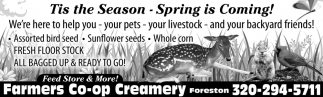 Tis the Season - Spring is Coming!