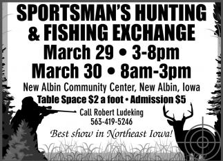 Sportsman's Hunting & Fishing Exchange