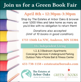 Join Us for a Green Book Fair