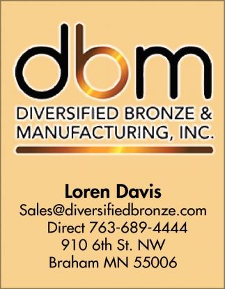 Diversified Bronze & Manufacturing