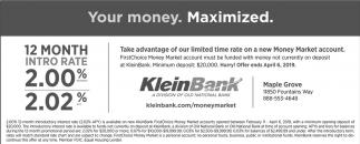Your Money. Maximized