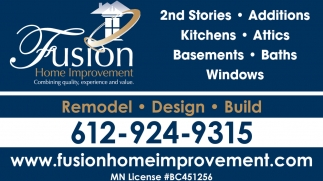 Remodel, Design & Build