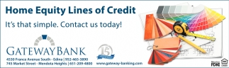 Home Equity Lines of Credit
