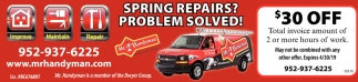 Spring Repairs? Problem Solved!