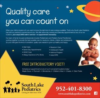Quality Care You Can Count On
