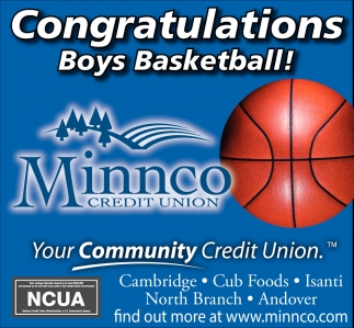 Congratulations Boys Basketball!
