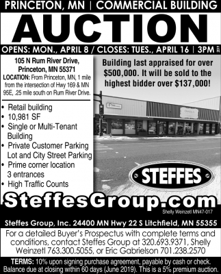 Commercial Building Auction