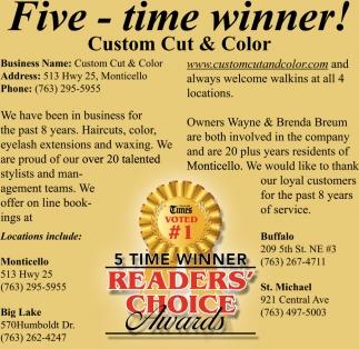 Five - Time Winner!