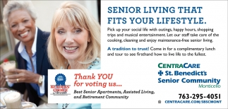 Senior Living that Fits Your Lifestyle