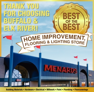 Thank You for Choosing Buffalo & Elk River!