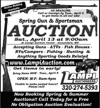 Spring Gun & Sportsman Auction