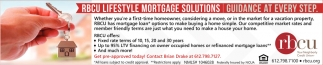 RCBU Lifestyle Mortgage Solutions
