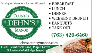 Serving Delicious Food for Over 60 Years!