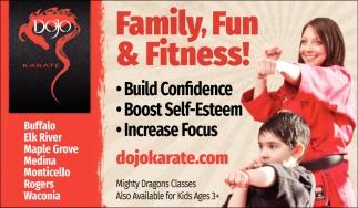 Family, Fun & Fitness!