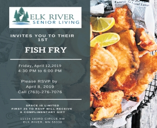 Invites You to Their 1st Fish Fry