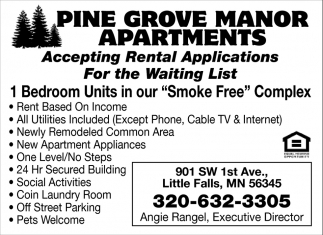 Accepting Rental Applications For The Waiting List