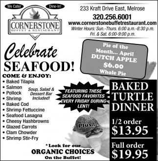 Celebrate Seafood!