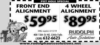 Pot Hole Special