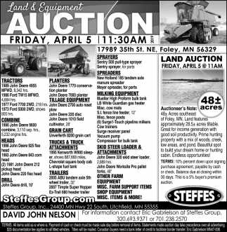 Land & Equipment Auction
