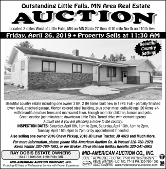 MN Area Real Estate Auction
