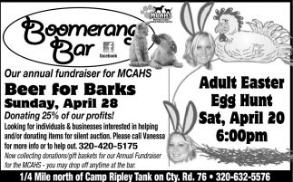 Our Annual Fundraiser for MCAHS