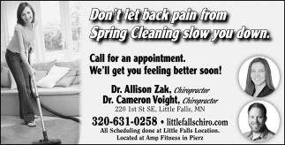 Don't Let Back Pain from Spring Cleaning Slow You Down