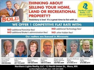 Thinking About Selling Your Home, Land or Recreational Property?