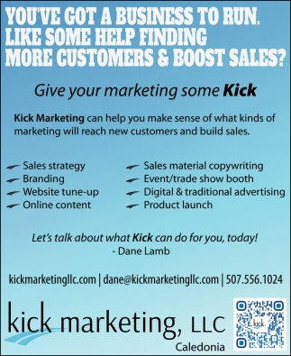 You've Got a Business to Run, Like Some Help Finding More Customers & Boost Sales?