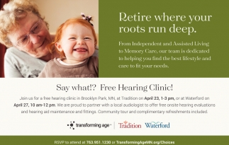 FREE Hearing Clinic