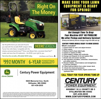 Make Sure Your Lawn Equipment is Ready for Spring!