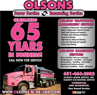 Celebrating 65 Years in Business!