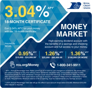 3.04% 18-Month Certificate