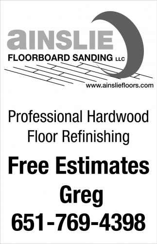 Professional Hardwood Floor Refinishing
