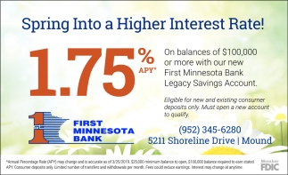 Spring Into a Higher Interest Rate!