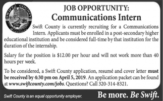 Communications Intern