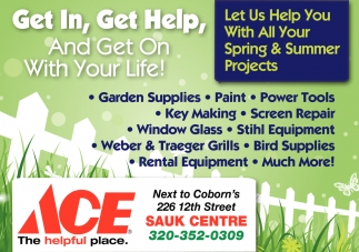 Let Us Help You With All Your Spring & Summer Projects