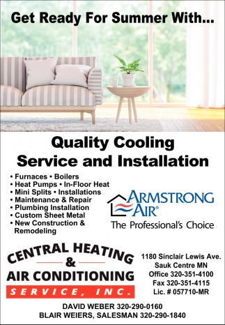 Get Ready for Summer With... Quality Cooling Service & Installation
