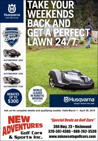 Take Your Weekends back and Get a Perfect Lawn 24/7