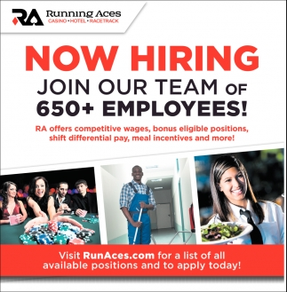 Join Our Team of 650+ Employees!