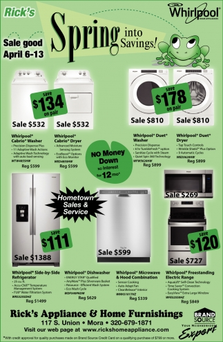 Spring Into Savings!