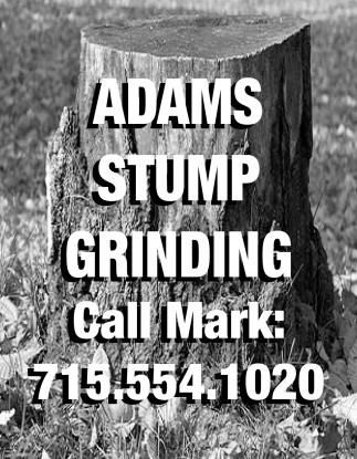 Adams Stump Grinding
