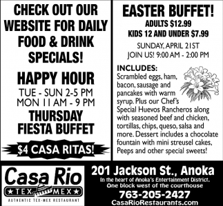 Easter Buffet!