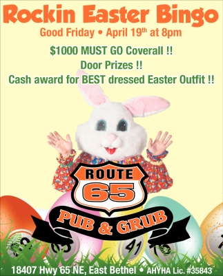 Rockin Easter Bingo